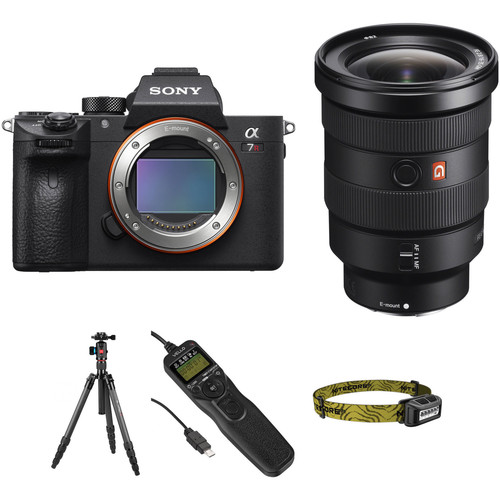 Sony Alpha a7R III Mirrorless Digital Camera with 16-35mm f/2.8 Lens Astrophotography Kit