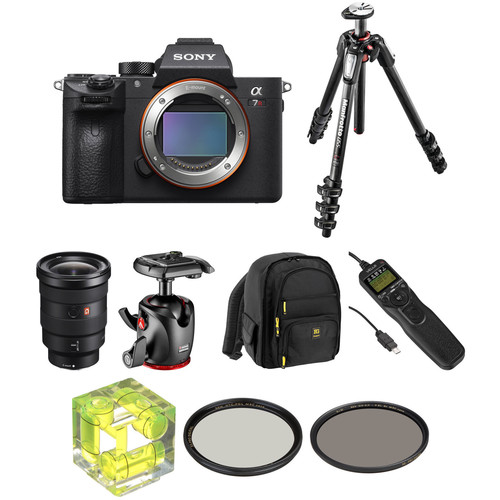Sony Alpha a7R III Mirrorless Digital Camera with 16-35mm f/2.8 Lens Landscape Kit