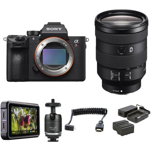 Sony Alpha a7R III Mirrorless Digital Camera with 24-105mm Lens HDR Filmmaker Kit