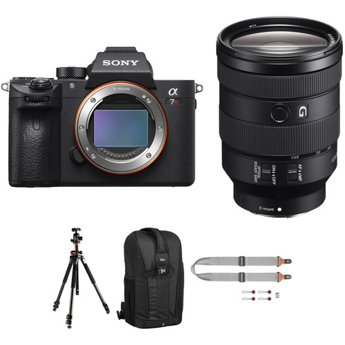 Sony Alpha a7R III Mirrorless Digital Camera with 24-105mm Lens and Pro Kit