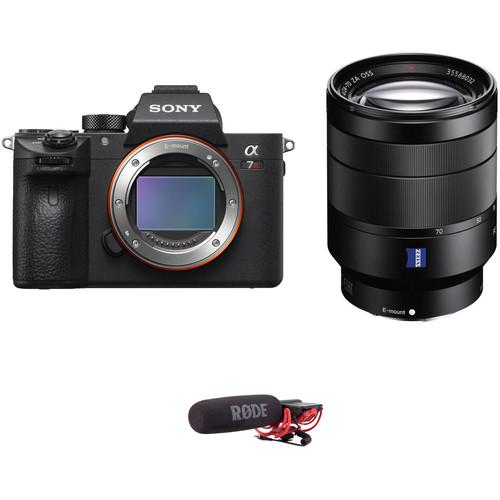 Sony Alpha a7R III Mirrorless Digital Camera with 24-70mm f/4 Lens Audio Kit