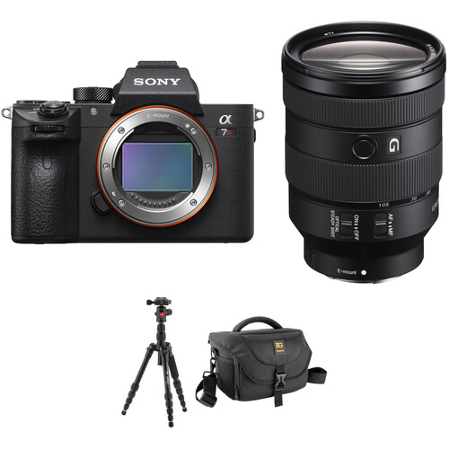 Sony Alpha a7R III Mirrorless Digital Camera with 24-105mm Lens and Tripod Kit