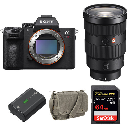 Sony Alpha a7R III Mirrorless Digital Camera with 24-70mm Lens and Accessories Kit