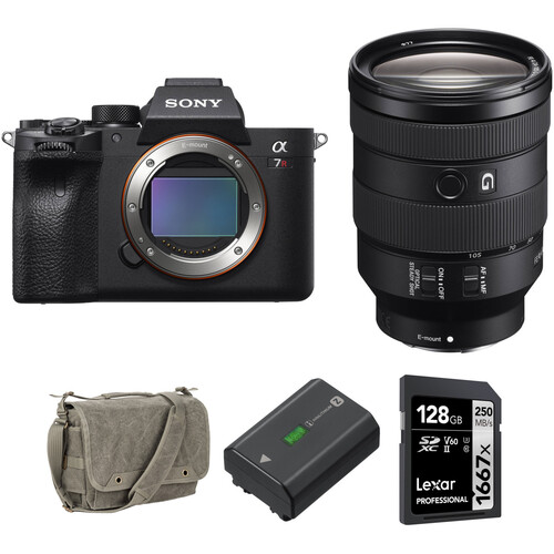 Sony Alpha a7R IV Mirrorless Digital Camera with 24-105mm Lens and Accessories Kit