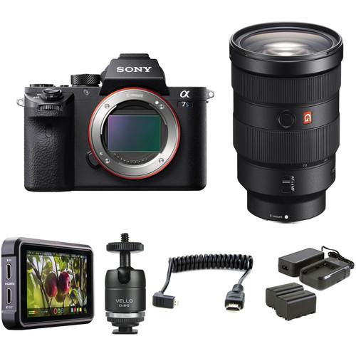 Sony Alpha a7S II Mirrorless Digital Camera with 24-70mm f/2.8 Lens HDR Filmmaker Kit