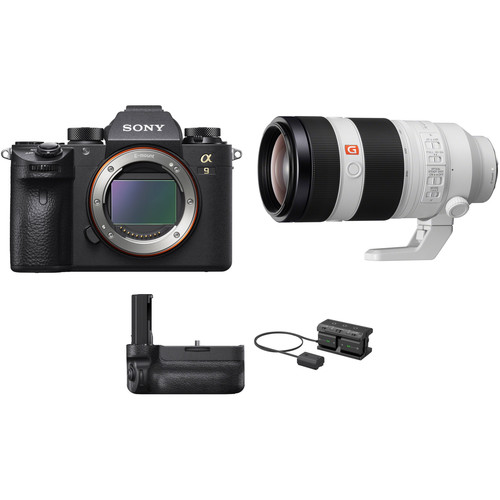 Sony Alpha a9 Mirrorless Camera with FE 100-400mm Lens and Vertical Grip Kit