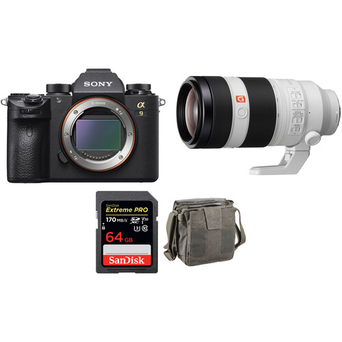 Sony Alpha a9 Mirrorless Camera with 100-400mm and Accessories Kit