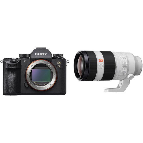 Sony Alpha a9 Mirrorless Digital Camera with 100-400mm Lens Kit