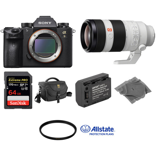 Sony Alpha a9 Mirrorless Digital Camera with 100-400mm Lens Deluxe Kit