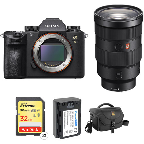 Sony Alpha a9 Mirrorless Digital Camera with 24-70mm f/2.8 Lens Professional Kit