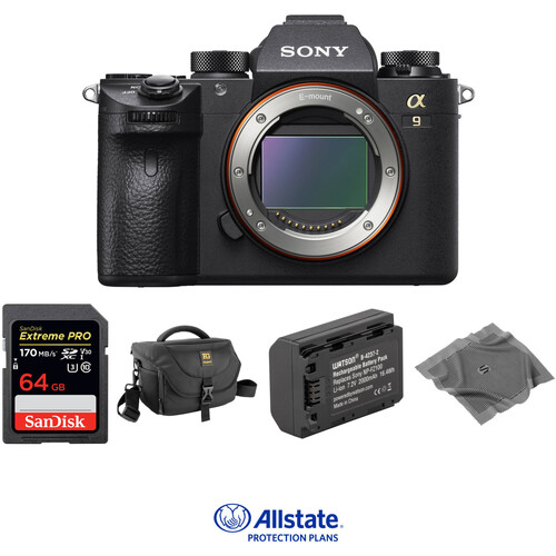 Sony Alpha a9 Mirrorless Digital Camera Deluxe Kit