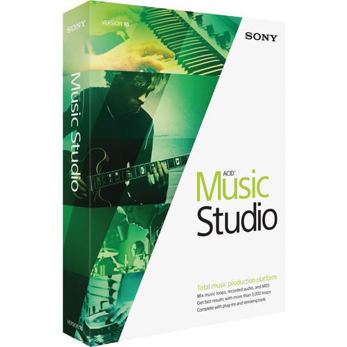 Sony ACID Music Studio 10 - Music Production Platform (Educational, Download)