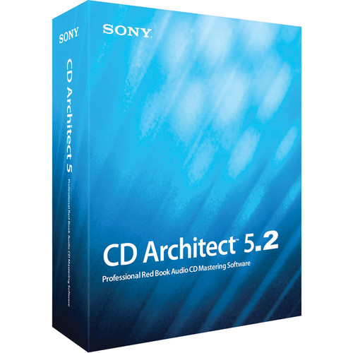 Sony CD Architect 5.2 - CD Mastering Software (Academic Version)