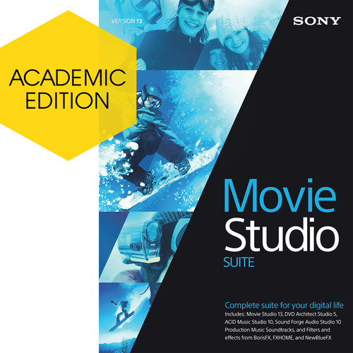 Sony Movie Studio 13 Suite (Academic, Download)