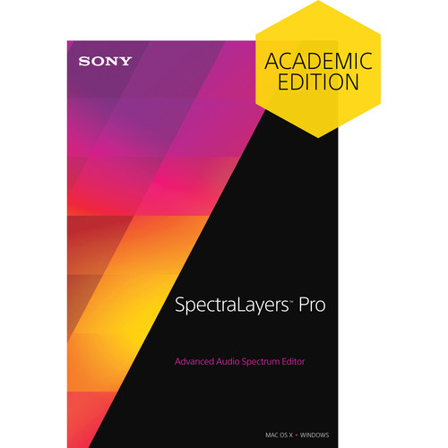 MAGIX Entertainment SpectraLayers Pro 3 - Advanced Audio Spectrum Editor (Educational, Download)