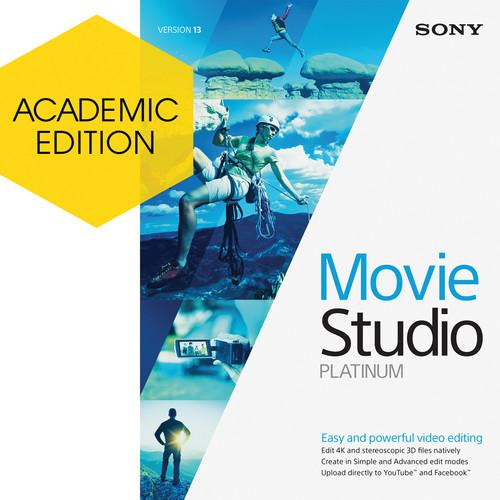 MAGIX Entertainment VEGAS Movie Studio Platinum 13 (Academic, Download)