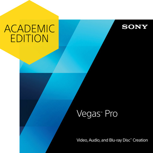 Sony Vegas Pro 13 (Academic, Download)