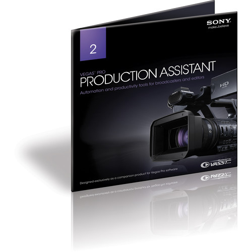 Sony Vegas Pro Production Assistant 2 (Academic, Download)