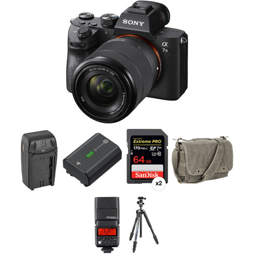 Sony Alpha a7 III with 28-70mm Lens Back to School Photo Kit I