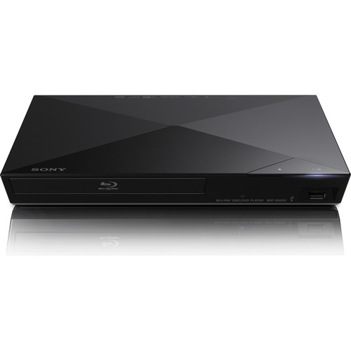 Sony BDP-S3200E Wi-Fi Blu-ray Multi-Region/Multi-System Disc Player