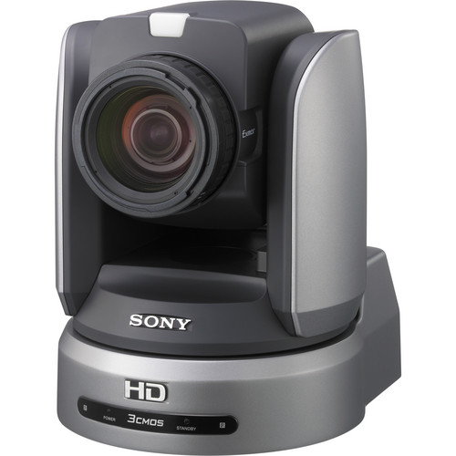 "Sony BRC-H900 1/2"" HD 3CMOS Remote PTZ Camera and BRBK-IP10 BRC Camera IP Control Interface Card"