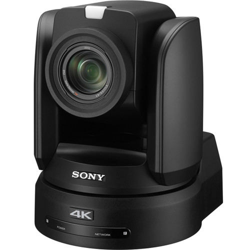 "Sony BRC-X1000 4K PTZ Camera with 1"" CMOS Sensor and PoE+ (Black)"