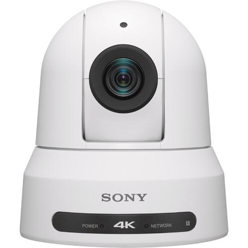 Sony BRC-X400 4K PTZ Camera with HDMI, IP & 3G-SDI Output (White)