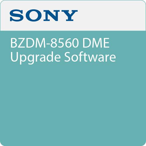 Sony BZDM-8560 DME Upgrade Software