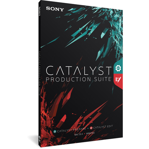 Sony Catalyst Production Suite (Boxed)