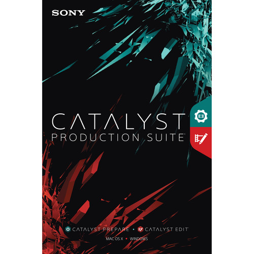 Sony Catalyst 2016 Production Suite (1-Year Subscription, Download)