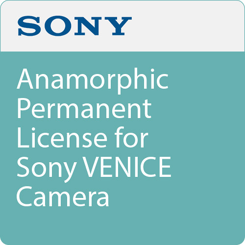 Sony Anamorphic Permanent License for Sony VENICE Camera
