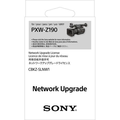Sony CBKZ-SLNW1 Network Upgrade License for PXW-Z190 Camcorder