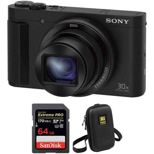 Sony Cyber-shot DSC-HX80 Digital Camera with Free Accessory Kit
