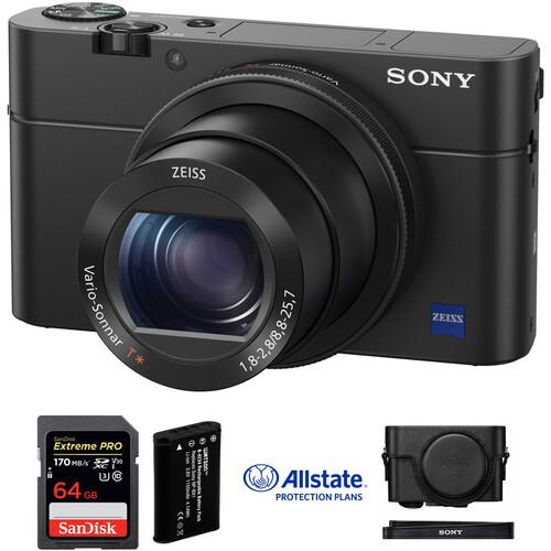 Sony Cyber-Shot DSC-RX100 IV Digital Camera Deluxe Kit