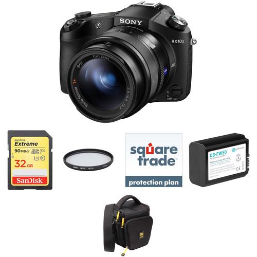 Sony Cyber-shot DSC-RX10 II Digital Camera Deluxe Kit