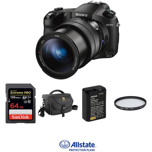 Sony Cyber-shot DSC-RX10 III Digital Camera Deluxe Kit