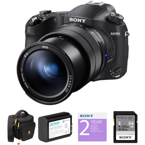 Sony Cyber-shot DSC-RX10 IV Digital Camera Deluxe Kit