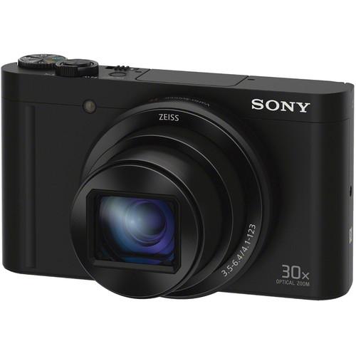 Sony Cyber-shot DSC-WX500 Digital Camera Deluxe Kit (Black)