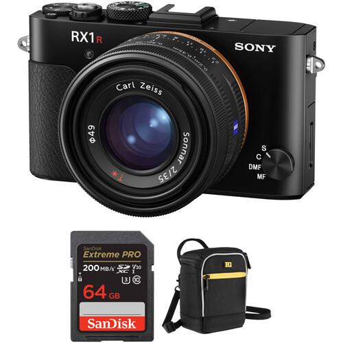 Sony Cyber-shot RX1R II Digital Camera with Free Accessory Kit