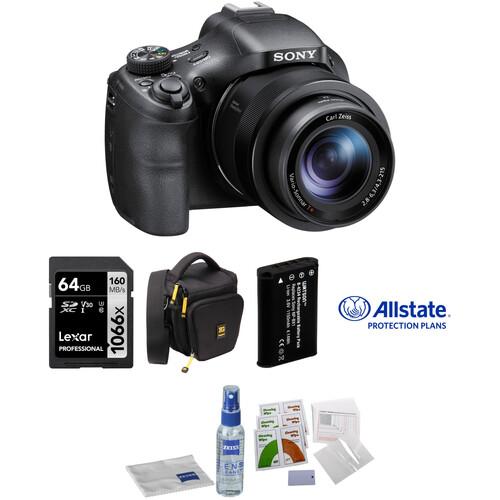 Sony Cyber-shot DSC-HX400V Digital Camera Deluxe Accessory Kit