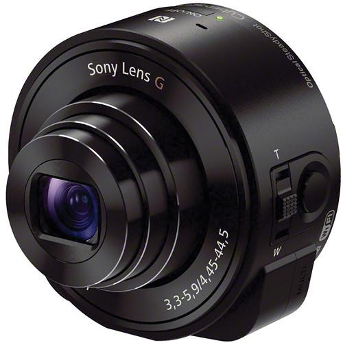 Sony DSC-QX10 Digital Camera Module for Smartphones (Black)