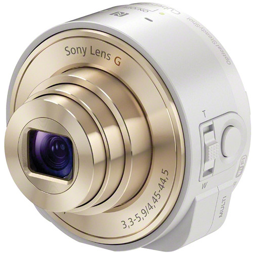 Sony DSC-QX10 Digital Camera Module for Smartphones (White)
