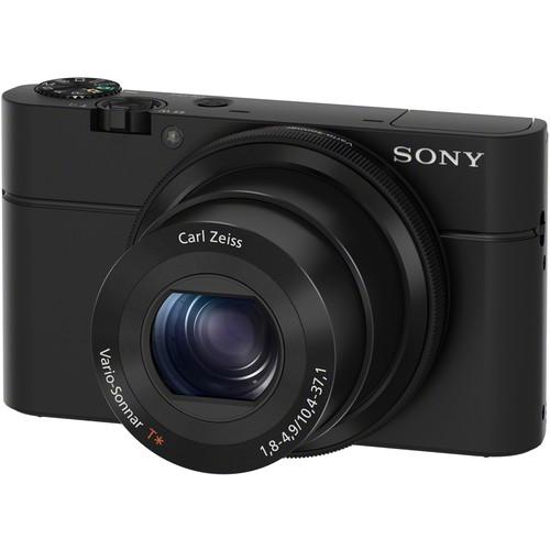 Sony Cyber-shot DSC-RX100 Digital Camera Deluxe Kit (Black)