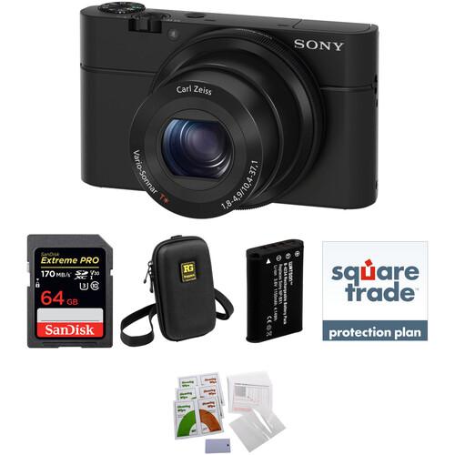 Sony Cyber-shot DSC-RX100 Digital Camera Deluxe Kit