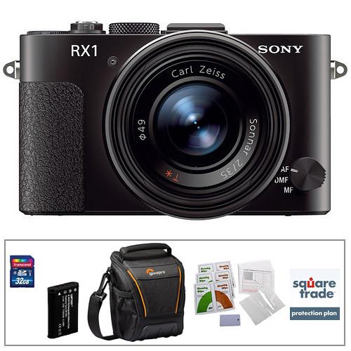 Sony Cyber-shot DSC-RX1 Digital Camera Deluxe Kit