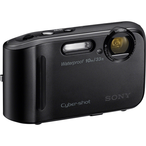 Sony Cyber-shot DSC-TF1 Digital Camera (Black)