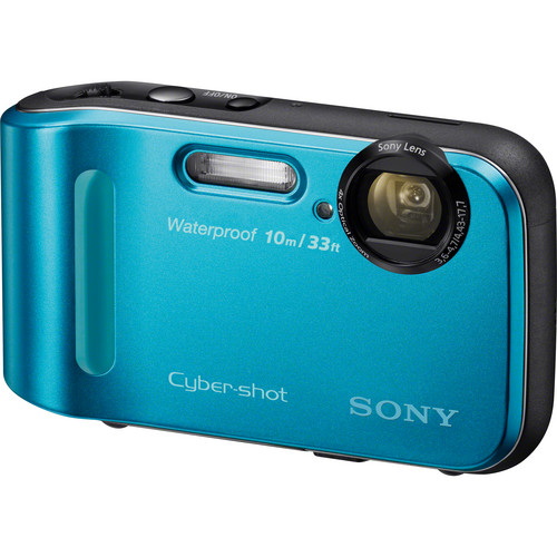 Sony Cyber-shot DSC-TF1 Digital Camera (Blue)