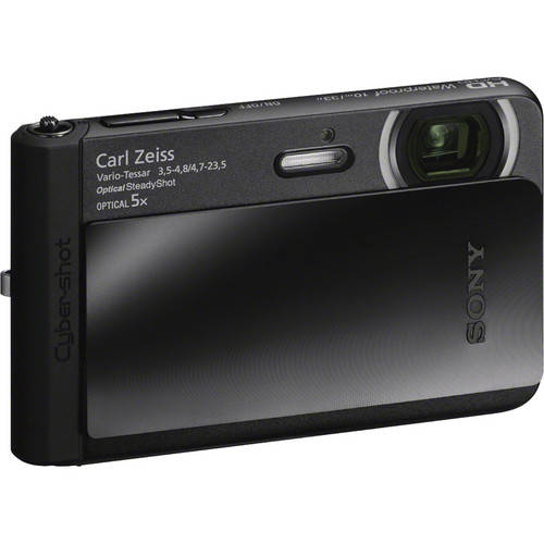 Sony Cyber-shot DSC-TX30 Digital Camera (Black)