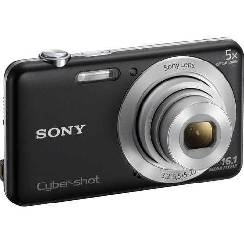 Sony Cyber-shot DSC-W710 Digital Camera (Black)