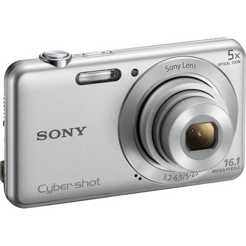 Sony Cyber-shot DSC-W710 Digital Camera (Silver)